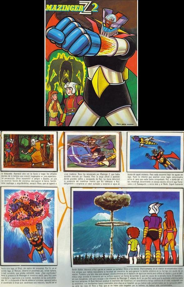 Álbum de cromos de Mazinger Z 2.