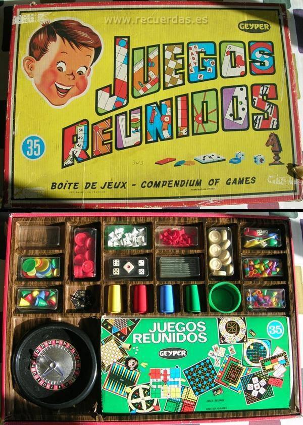 Juguetes - Juegos reunidos Geyper