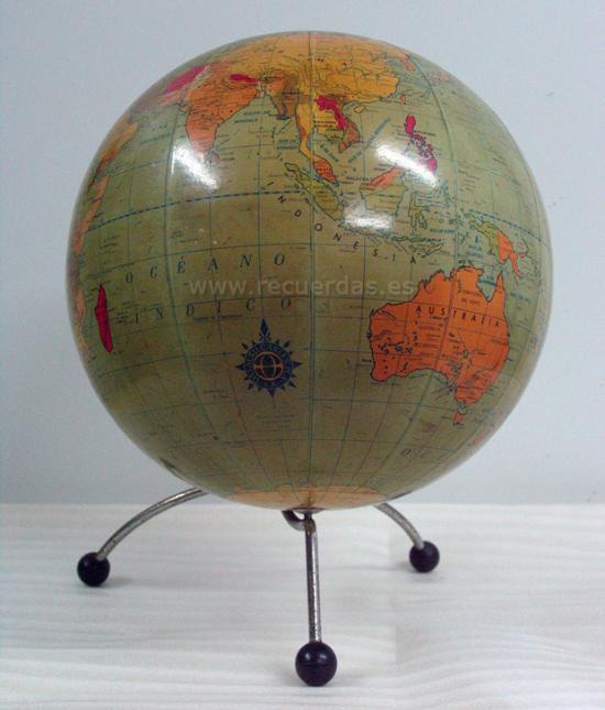 Globo Terráqueo - Bola del Mundo - Globo terrestre